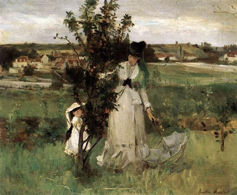 La Berthe Morisot by Berthe Morisot Cache Cache 1873 Tableaux Oeuvres D