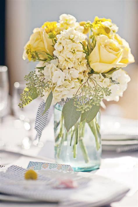 yellow centerpieces ideas  pinterest lemon