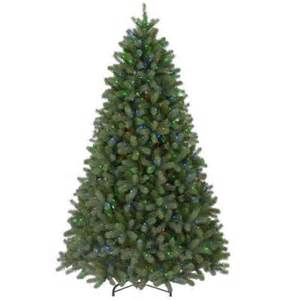 9 ft feel real downswept douglas fir artificial christmas tree with 900 multi color lights