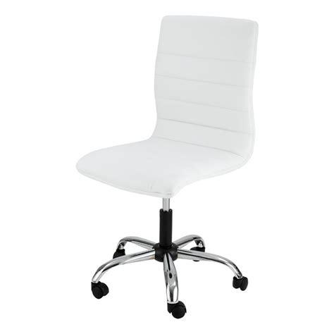 bureau zoe chaise de bureau blanche zoé mooviin