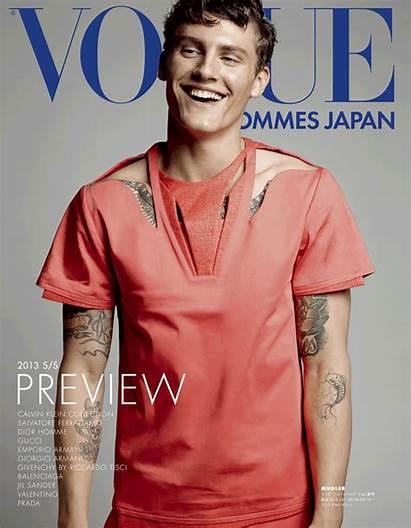 Vogue Japan Hommes Models Bonus Magazine Male