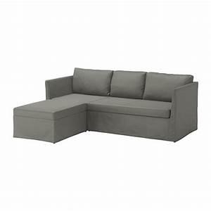 Canapé Vert Ikea : br thult canap lit d 39 angle borred gris vert ikea ~ Teatrodelosmanantiales.com Idées de Décoration