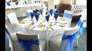 Inspirations Royal Blue And Silver Wedding Decorations