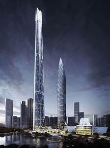 china's tallest skyscraper: H700 shenzhen tower