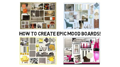How To Create An Epic Mood Board For Interior Design Youtube