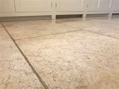 limestone floor tiles kitchen cleaning a 40m2 light limestone kitchen floor at a cottage 7113