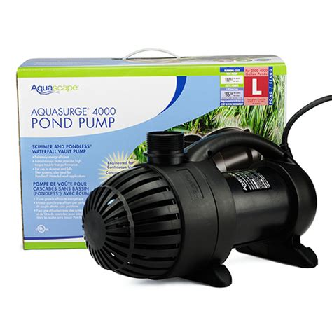 Aquascaping Supplies by Aquascape Aquasurge 4000 Mpn 91019 Best Prices On