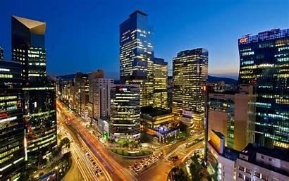Seoul Skyline Wallpapers Ultra
