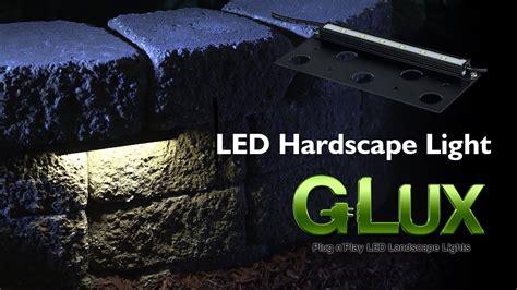 led hardscape light landscape retaining wall light with