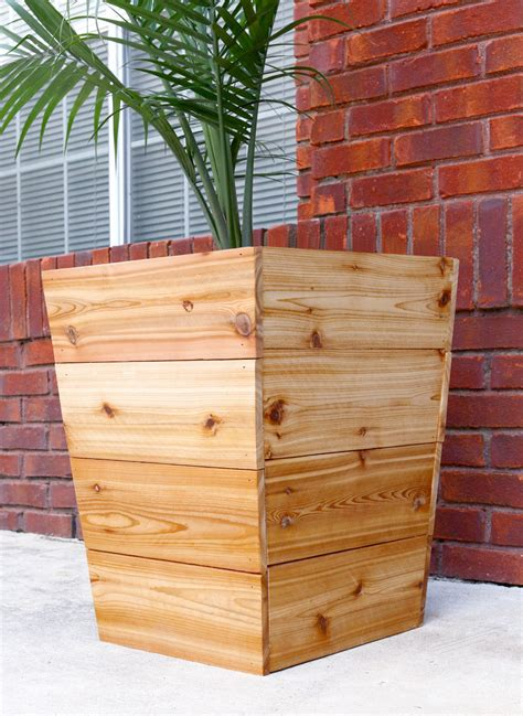large planter boxes 20 diy wooden planter boxes for your yard or patio