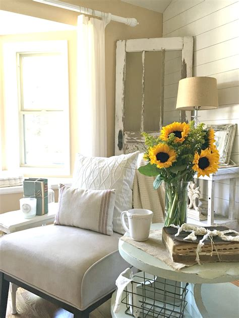 transitioned  farmhouse style  vintage nest