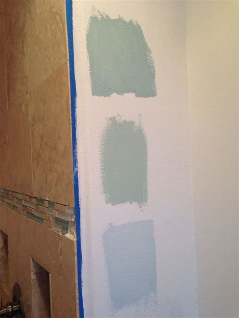 Top to Bottom: Benjamin Moore Gossamer Blue, Palladian