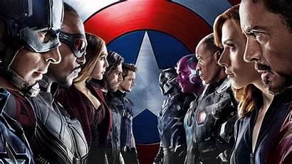 Mcu Films Civil War Marvel