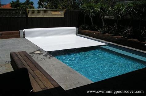 Automatic Hard Swimming Pool Covers Above Ground Outdoor