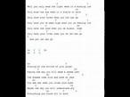 passenger - let her go, lyrics and chords - YouTube