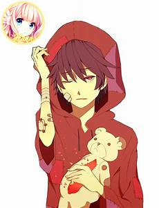 Anime Boy Red By Hanakokyu On DeviantArt