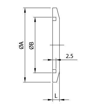 Fornitore Di Flange In Bianco Kf  Raccordi Per Tubi In