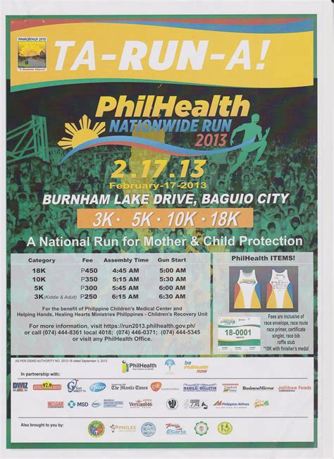philhealth run  health  hope