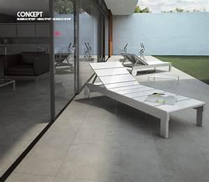 carrelage terrasse exterieur moderne amazing carrelage With carrelage adhesif salle de bain avec eclairage led escalier interieur