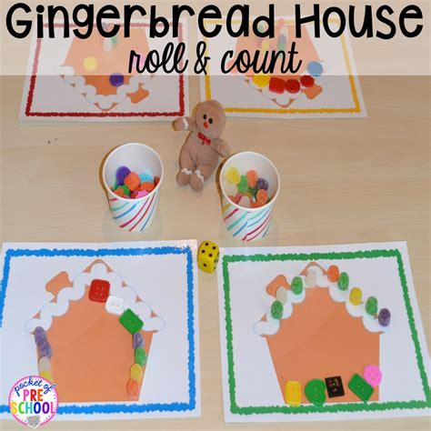 gingerbread centers and activities for gingerbread week 456 | Slide6