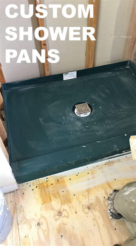 Custom Shower Pans by Best 25 Custom Shower Ideas On Bathrooms
