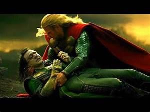 Loki's Death Scene - Thor and Loki vs Kurse & Dark Elves ...