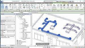 Revit Hvac Project 04 Add Supply Ducts