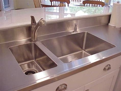 custom kitchen sinks stainless steel custom stainless steel countertops sinks and cabinets 8541