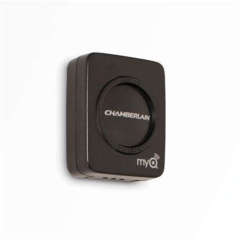 chamberlain garage door opener myq chamberlain myq garage door sensor myq g0202 the home depot