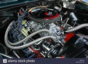Chevy 396 V8 Engine Stock Photo  4651168