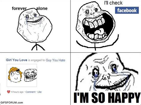 Rage Girl Meme - image 157238 forever alone know your meme