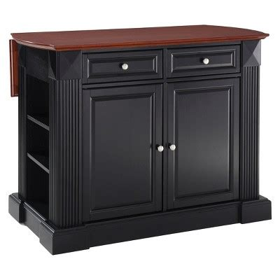 kitchen island drop leaf drop leaf breakfast bar kitchen island crosley target 5052