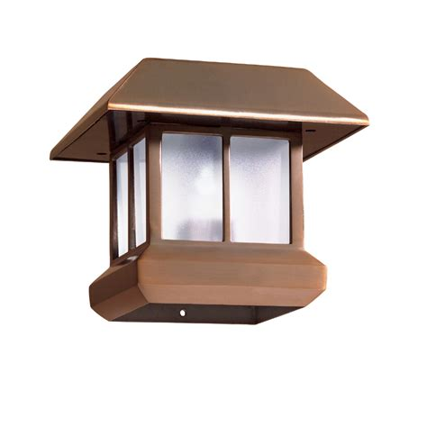 solar deck post cap lights lowes solar deck post lights outdoor deck design and ideas