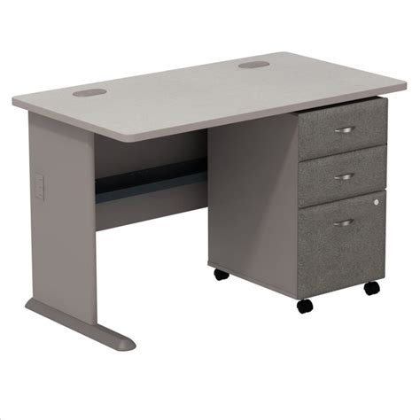 Desk With File Drawer by Bush Bbf Series A 48 Quot Computer Desk With 3 Drawer File