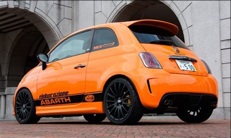 Fiat 500 Orange by Orange Abarth 500 Abarth Fiat 500 Fiat Y Cars