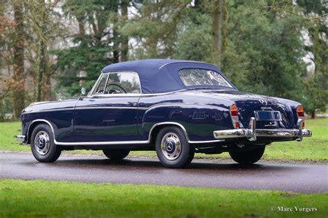 mercedes 220 se cabriolet 1961 classicargarage fr