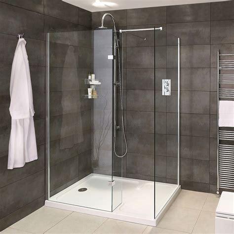 aqata spectra sp walk  corner shower uk bathrooms