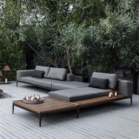 Moderner Garten, Holz, Loungemöbel, Terasse Moderner