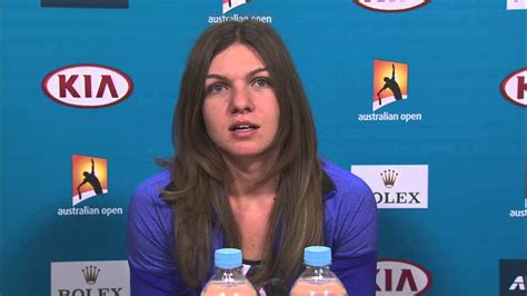Simona Halep Press Conference Australian Open 2018