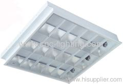 fluorescent grille light fixture from china manufacturer