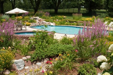 swimming pool landscape four of our favorite swimming pool landscaping ideas