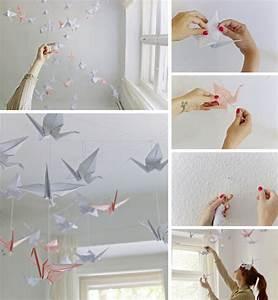 Idée Déco Chambre Bébé À Faire Soi Même : amazing art de papier origami pour une dcoration du ~ Melissatoandfro.com Idées de Décoration