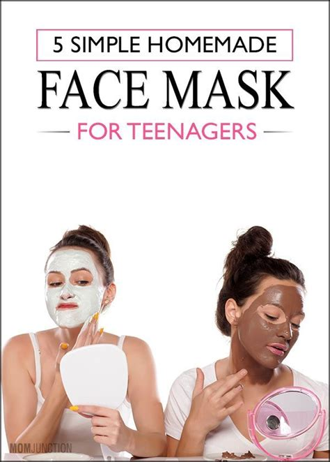 simple homemade face masks  teenage skin homemade