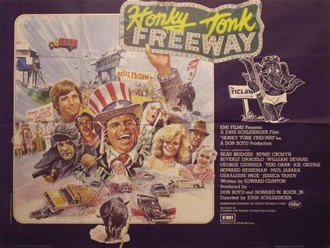 honky tonk freeway poster uk quad  brian bysouth
