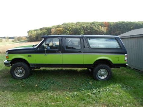 Purchase Used Ford Bronco Centurion Whiteford
