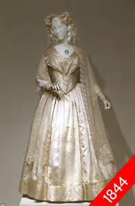 1800 wedding dress of exhibit traces evolution of the wedding gown daily mail