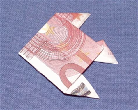 fische aus geld basteln origami fisch geldschein my