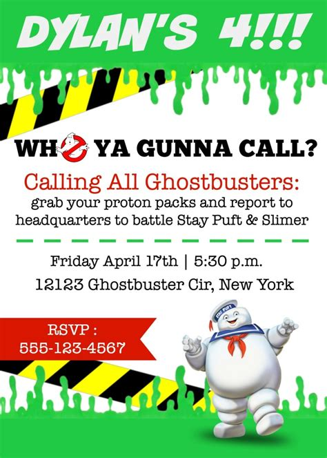 ghostbusters birthday party elevate everyday