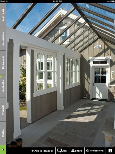 Detached Sunroom by A Great Idea To Connect A Unattached Garage Get A