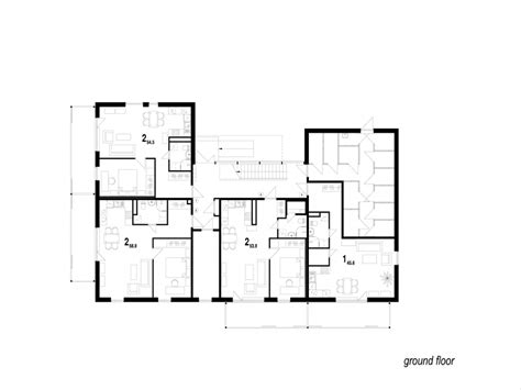 residential blueprints residential floor plans with dimensions simple floor plan